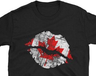 9f4cabef Canada Shirt Canadian Maple Leaf Shirt Canadian Flag Shirt Women's Proud Canadian  Shirt Canada Day Shirt Funny Canadian Shirt Canadian Pride
