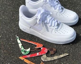 wholesale dealer d6e7a 488fe Air Force 1 Costum LV,Gucci, Nike Shoes, Nike own design, af1 LV.