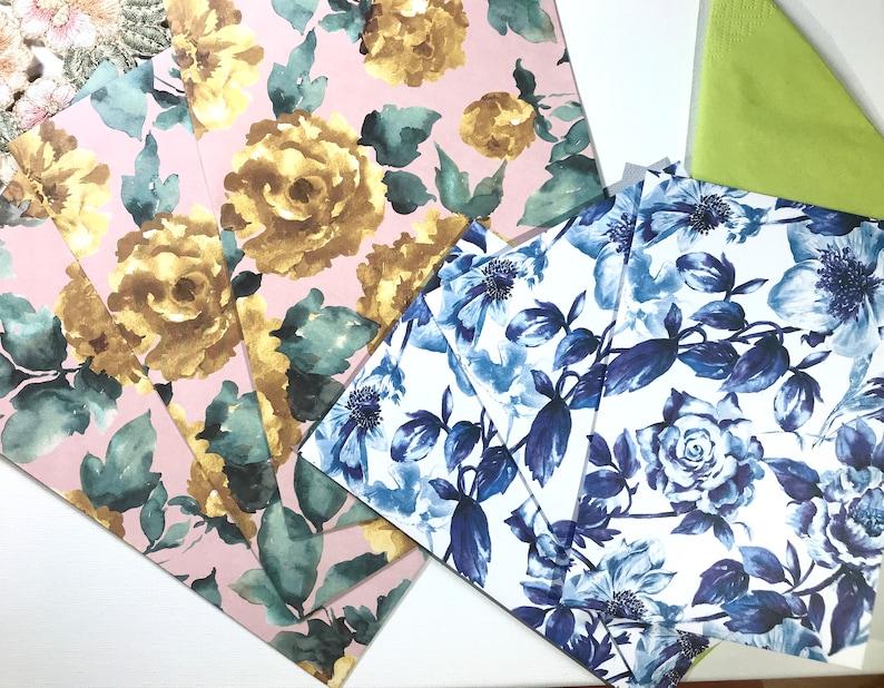 Country Rose Envelope Set