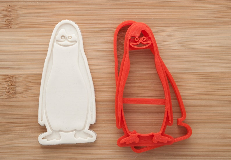 Penguins of Madagascar cookie cutter Kowalski cookie cutter