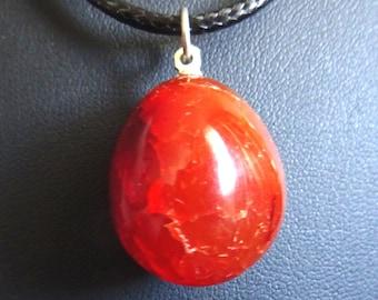 spiritual jewelry Carneol Pendant