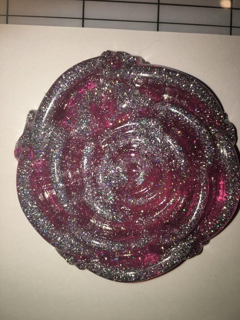 Glitter Resin Rose