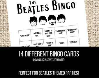 Beatles party | Etsy