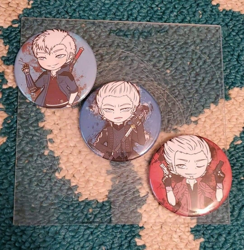 2.25 Devil May Cry 5 Buttons