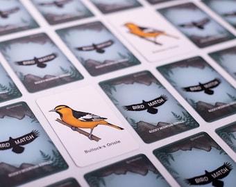 BirdMatch Rocky Mountain Edition   Memory game  