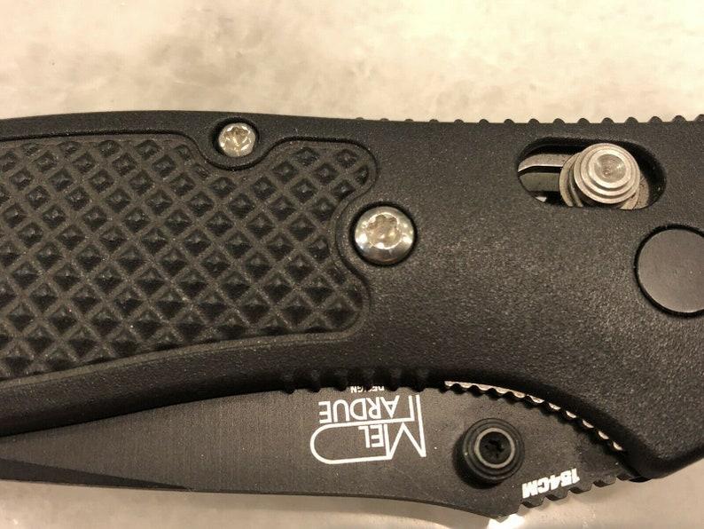 Stainless Torx Screw Set For Benchmade Griptilian Handle /& Pivot 550 551 553