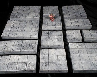 photo about Dungeons and Dragons Tiles Printable known as Dungeon tiles Etsy