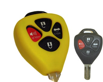 Toyota key fob rubber remote cover Yaris Camry Corolla 86 2017 2016 2015 2014