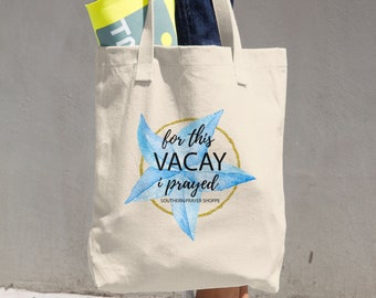 26bff89736591 Beach Creation Weekender Bag. Linen Tote Bags, Cotton Shopping Bags, or Reusable  Grocery Bags.