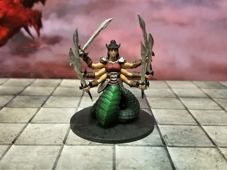 28mm Scale Demon Miniatures Table Top RPG Dungeons and Dragons