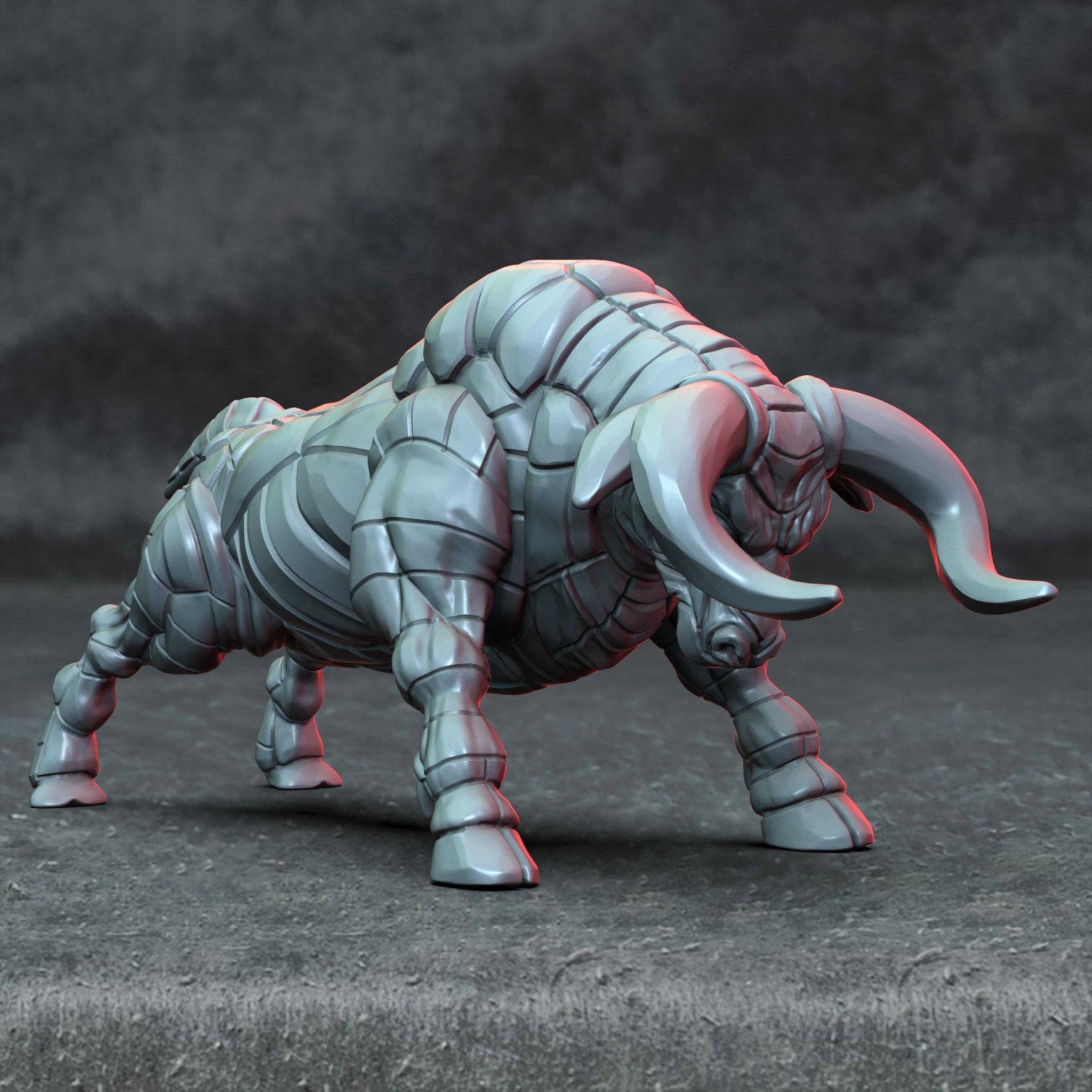 Gorgon! Demon Bull!