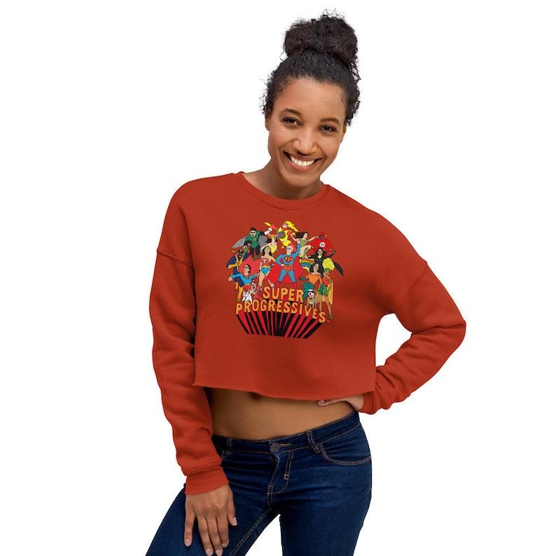 Super Progressives™ Crop Sweatshirt image 0