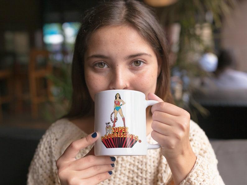 Tulsi Gabbard 2020 Super Progressives™ Mug image 0