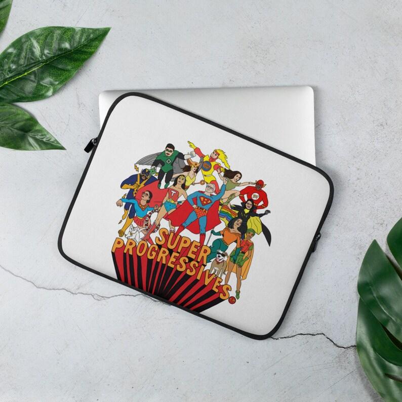 Super Progressives™  Laptop Sleeve image 0