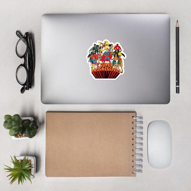 Super Progressives™ Bubble-Free Stickers image 0