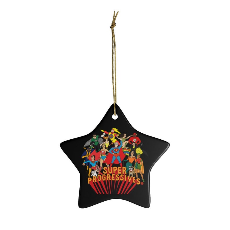 Super Progressives™  Ceramic Decorative Ornaments image 0