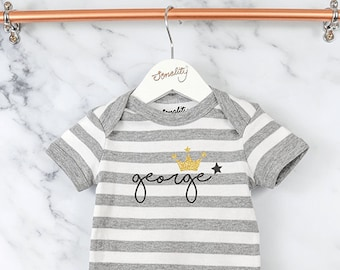 59764add34070 Personalised Fairytale Bodysuit Baby Vest Newborn Gift | Etsy