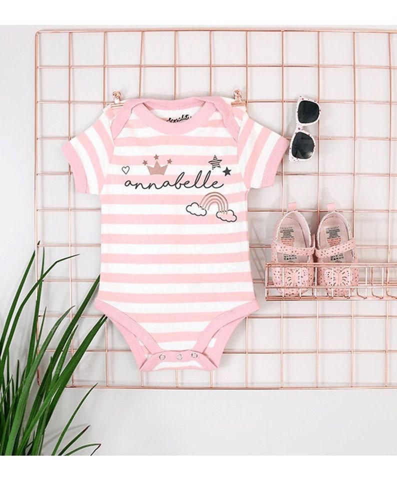 9a030cd8466ee Personalised Fairytale Bodysuit | Baby Vest | Newborn Gift | Newborn |  Babygrow | Personalised Baby Clothing | Personalised Babygrow | Girls