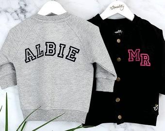 Personalised Allstar Baby Bomber Jacket, Baseball Jacket, Baby Gift, Toddler Jacket, Baby Jacket, Birthday Gift, Boys, Girls