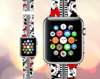 brand new 39cf0 435ff Disney apple watch cover | Etsy