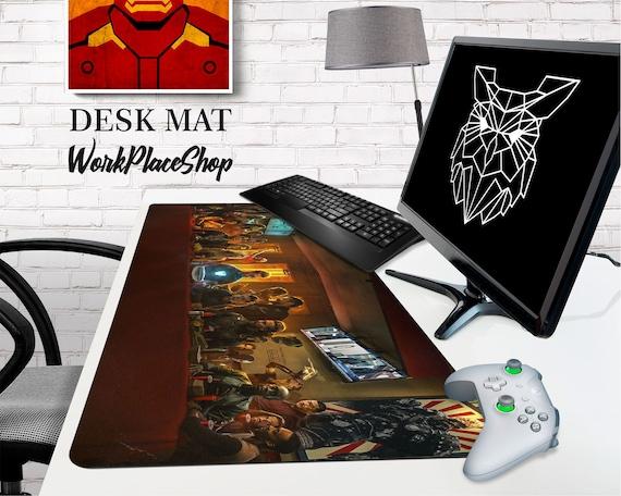 Endgame Tony Stark Large Mouse Pad Play Mat Keyboard Game Mat Movie Avengers