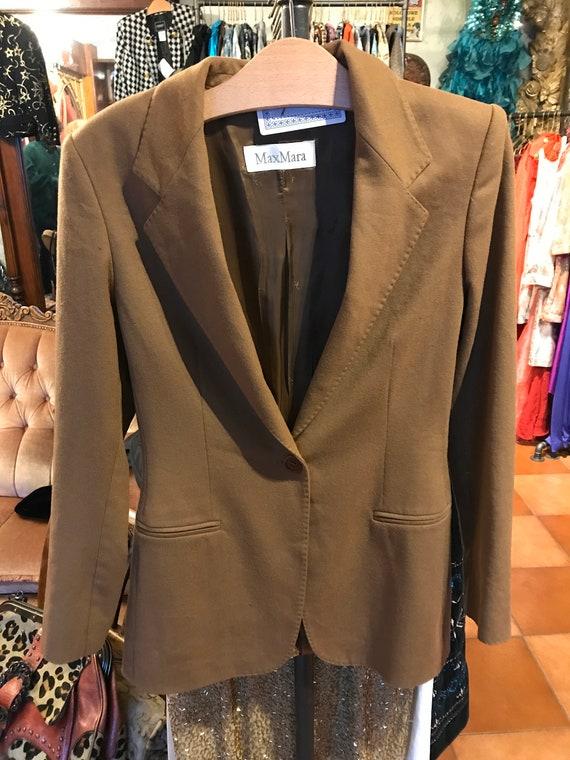 Max Mara woolen blazer