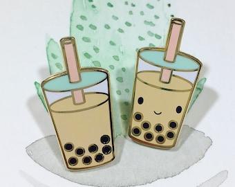 a3e055fc0a8 Boba Milk Tea Pin