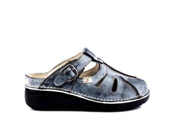TMA 8633 Tendance Femmes Chaussure Escarpins Chaussures Véritable Cuir Blanc Toutes Tailles 36-42