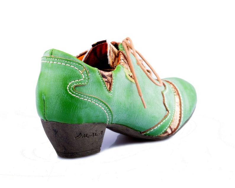 36-42 TMA 6101 Eleganter Damen Pumps Halbschuhe Schuhe Leder schwarz alle Gr