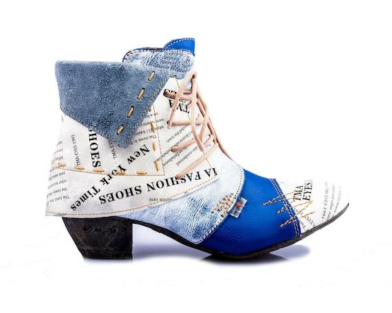TOP Damen Stiefel Schuhe Spitze Sommer Boots 36 37 38 39 40 41