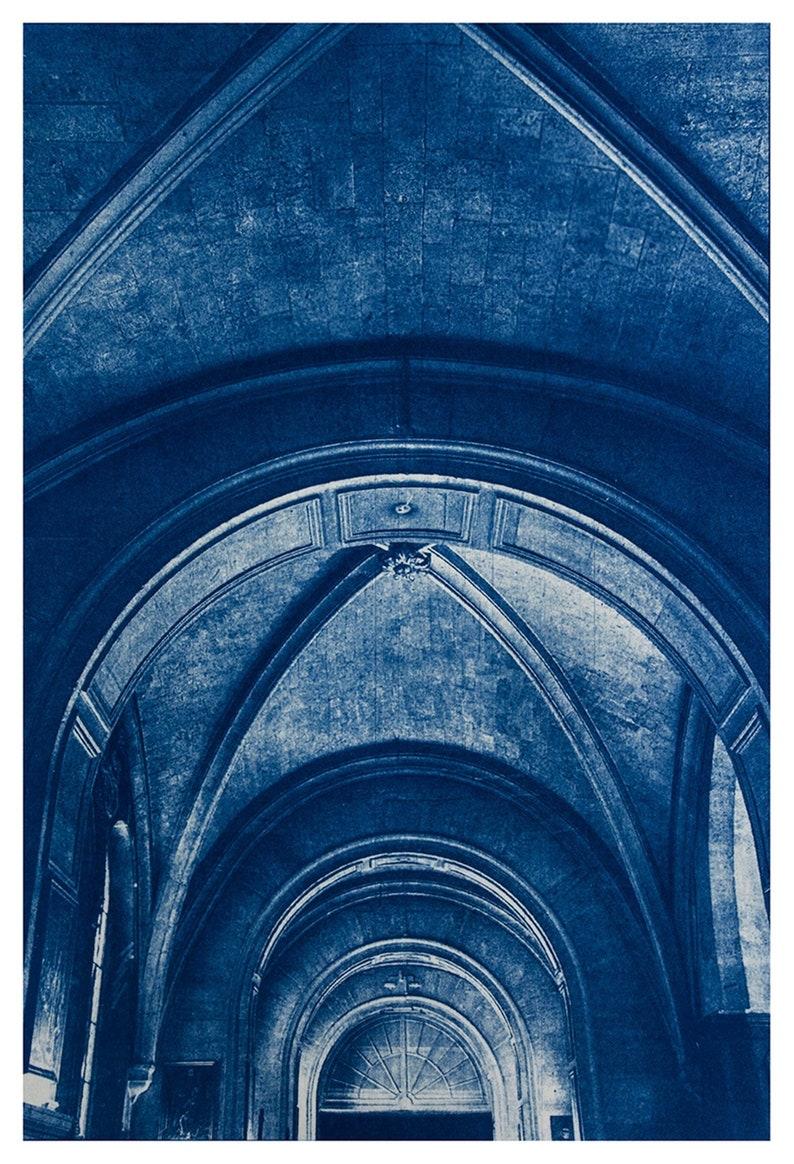 Cyanotype of Saint Elizabeth in Paris. image 0