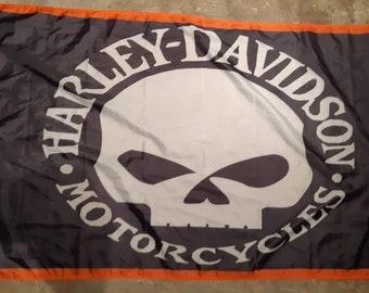 Harley flag | Etsy