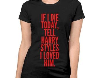 ae055441e Harry Styles Graphic T-Shirt, Men's Women's Tee