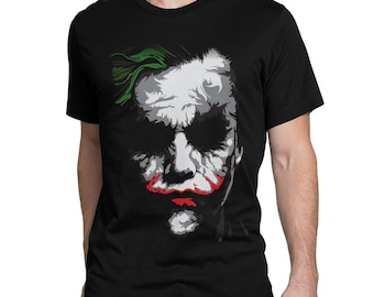 182c44648 The Joker Dark Knight T-Shirt, Men's Women's Tee