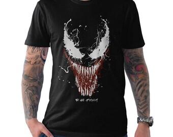 Venom T-Shirt Funny Baby Venom Spiderman Black T-Shirt for Men and Women