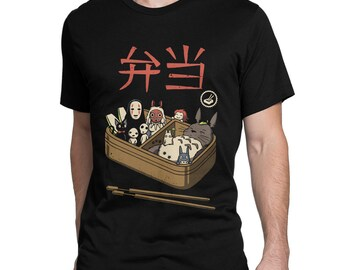 1ca52b94 Studio Ghibli Sushi Art T-Shirt, Hayao Miyazaki Tee, Men's Women's Sizes