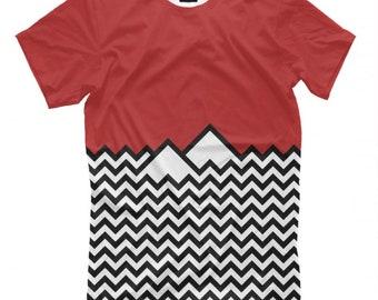 911554f35bbb Twin Peaks Art T-Shirt