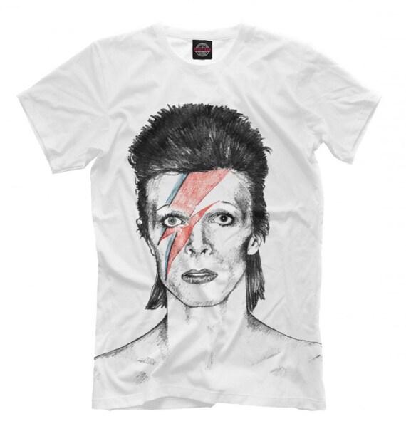 Men/'s Women/'s Sizes Ziggy Stardust Cool T-Shirt David Bowie Tee