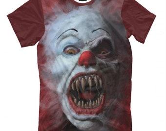 4d7b9b77d IT Movie 1990 T-Shirt, Pennywise the Dancing Clown Shirt, Men's Women's All  Sizes
