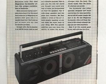1973 Magnavox 1817 4-channel Component System Stereo Hi-fi Vtg Print Ad Merchandise & Memorabilia Advertising