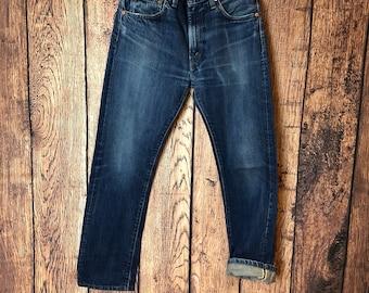 5b22fc4d150 LVC levis vintage clothing big E selvedge denim 1967 505 zip fly jeans mod  americana W30