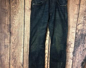 """81691383 LVC levis big E selvedge denim jeans 1947 W32 L33"""""""