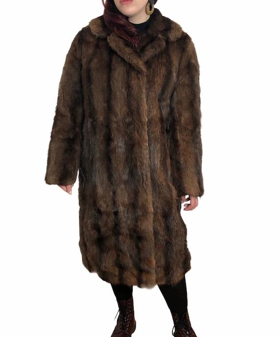 Harrods London 1960s 70s 1970s real fur mink ladie