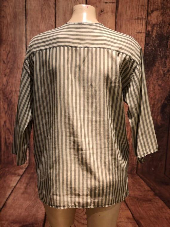 Ladies vintage 1970s does 1930s 30s 40s workshirt… - image 5
