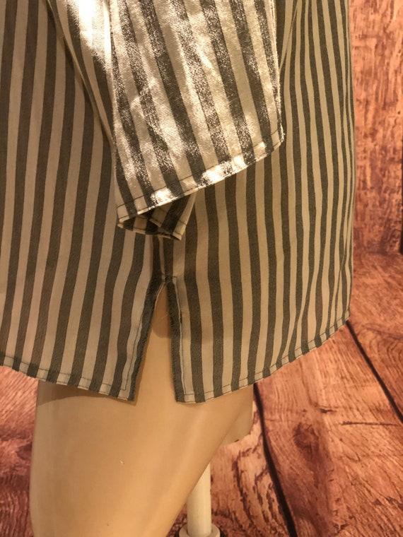 Ladies vintage 1970s does 1930s 30s 40s workshirt… - image 4