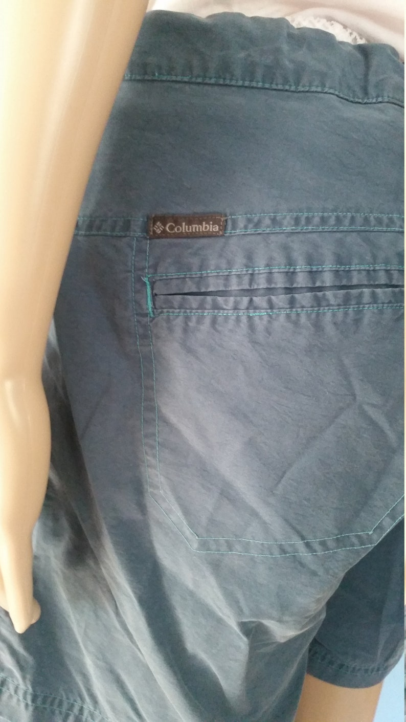 cottonnylon Columbia women/'s hiking shorts blue