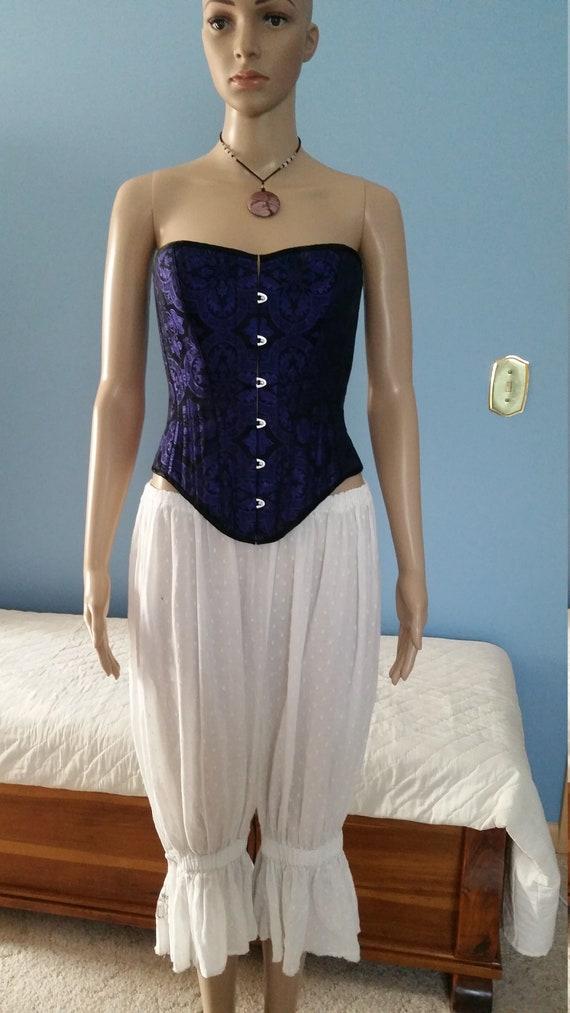 Steampunk/Victorian/Edwardian style corset, overbu