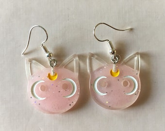 5c0b31d1f08 KITTY earrings  pink