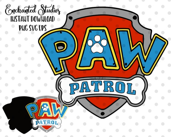 image about Paw Patrol Logo Printable known as Paw Patrol brand SVG Png Eps ClipArt Data files, Mickey Mouse Printable Shots, Electronic Down load, Sbook, Clear Historical past