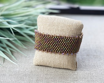 3 Souls, Boho Bracelet, Handmade Beaded Bracelet, Summer Bracelet, Seed Bead Bracelet with Swarovski Crystals, Womens Bead Bracelet